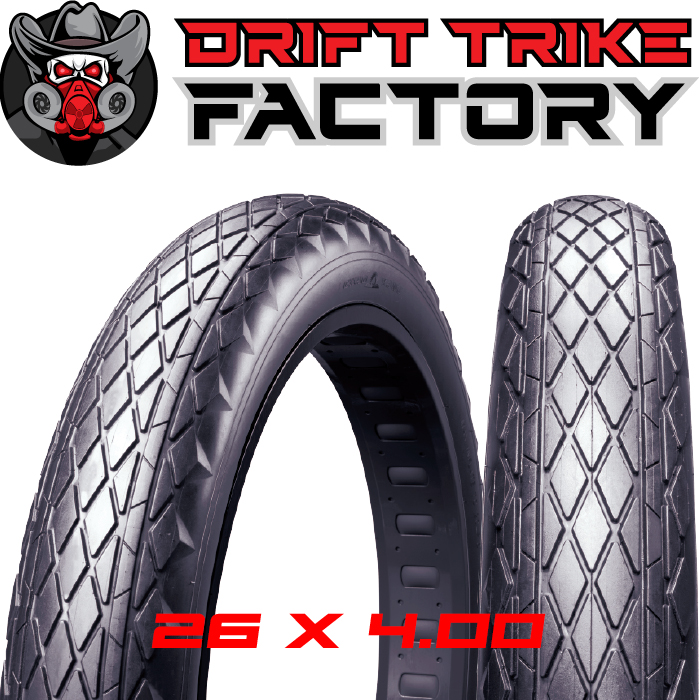 Drift Trike Road Tread Tyres